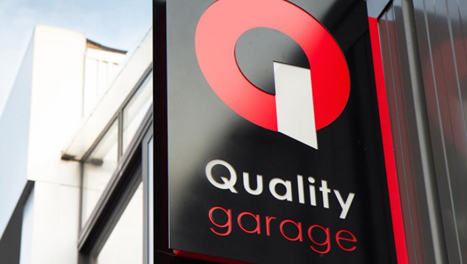 Quality garage concept